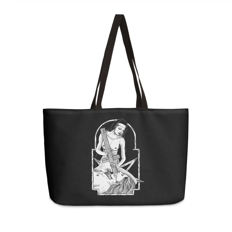 Nun of yer business Accessories Weekender Bag Bag by Sp3ktr's Artist Shop