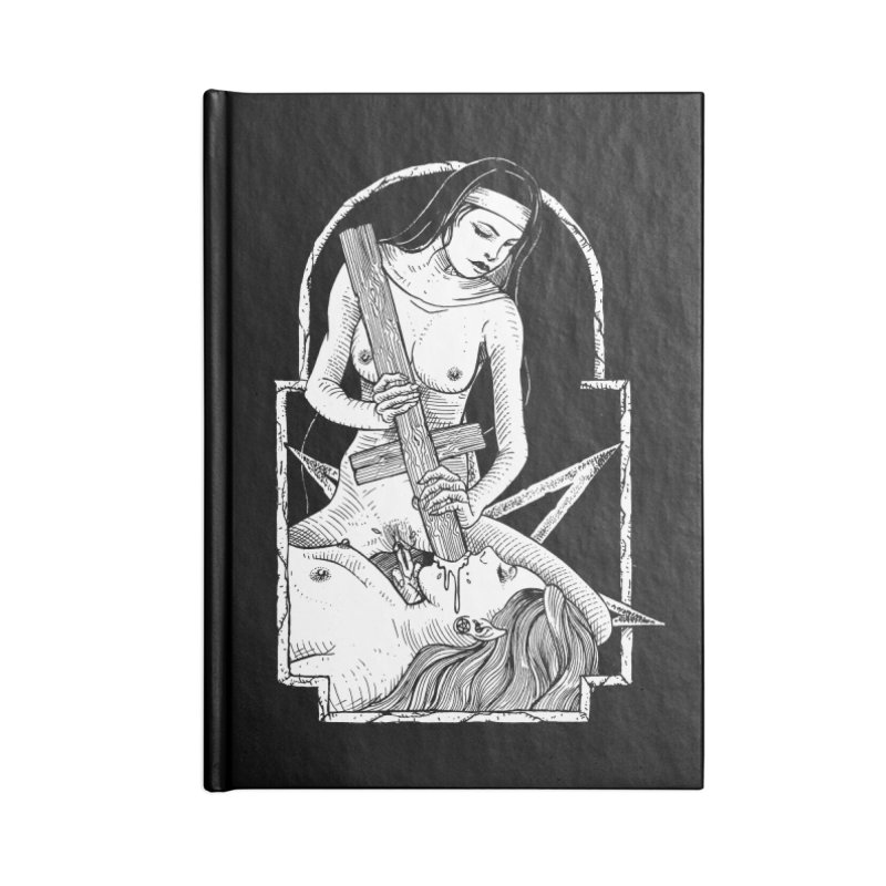 Nun of yer business Accessories Lined Journal Notebook by Sp3ktr's Artist Shop