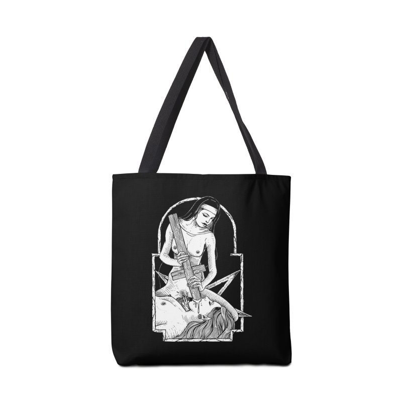 Nun of yer business Accessories Tote Bag Bag by Sp3ktr's Artist Shop