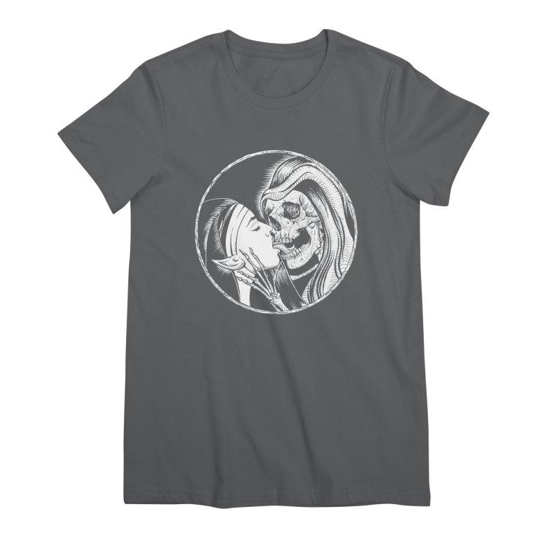 Kiss of death Women's Premium T-Shirt by Sp3ktr's Artist Shop