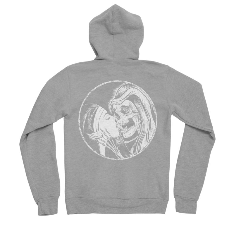 Kiss of death Men's Sponge Fleece Zip-Up Hoody by Sp3ktr's Artist Shop
