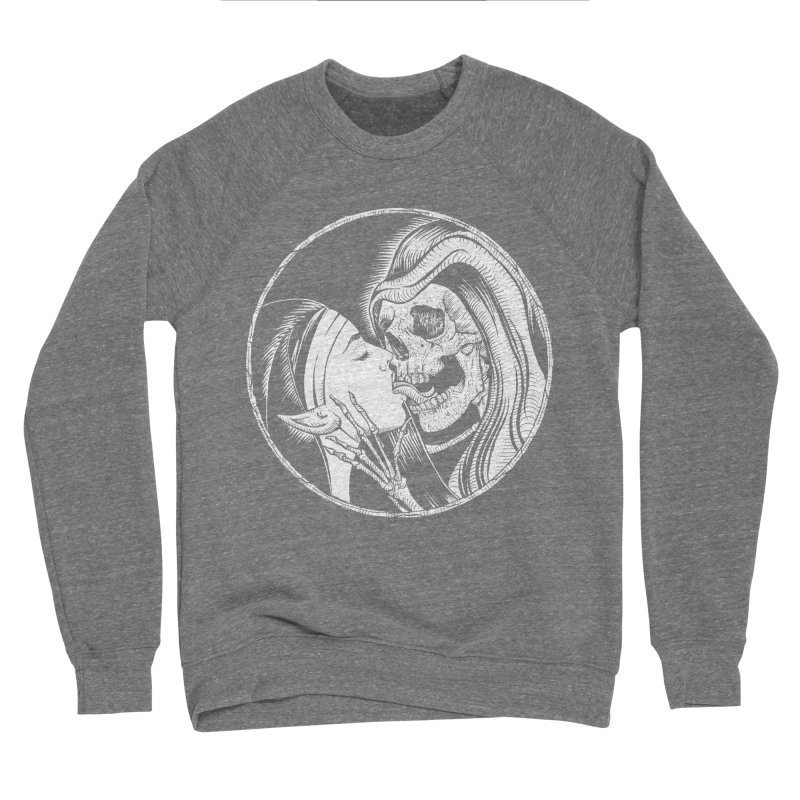 Kiss of death Men's Sponge Fleece Sweatshirt by Sp3ktr's Artist Shop