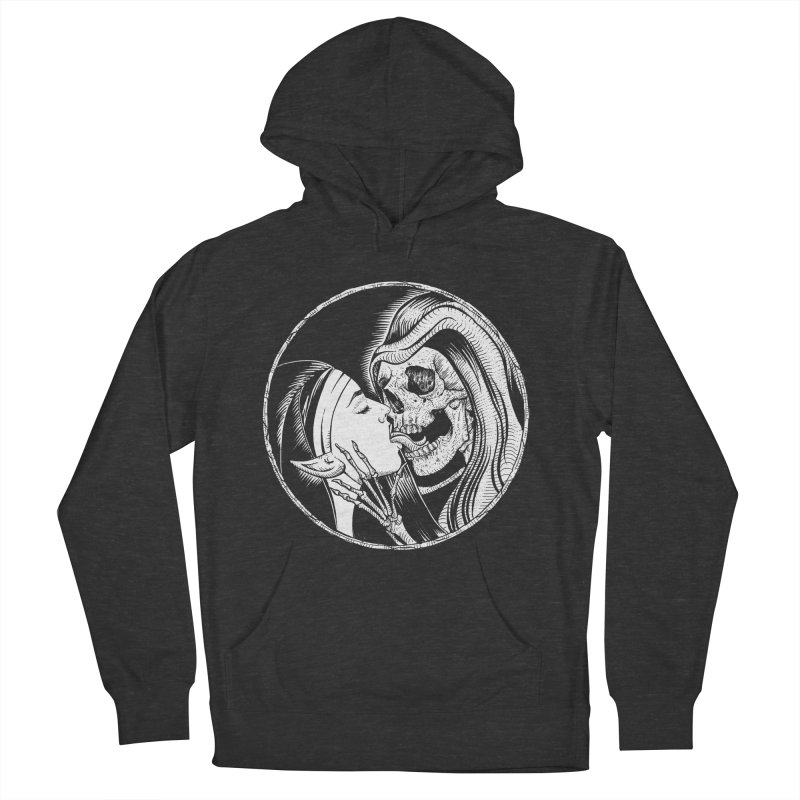 Kiss of death Women's French Terry Pullover Hoody by Sp3ktr's Artist Shop