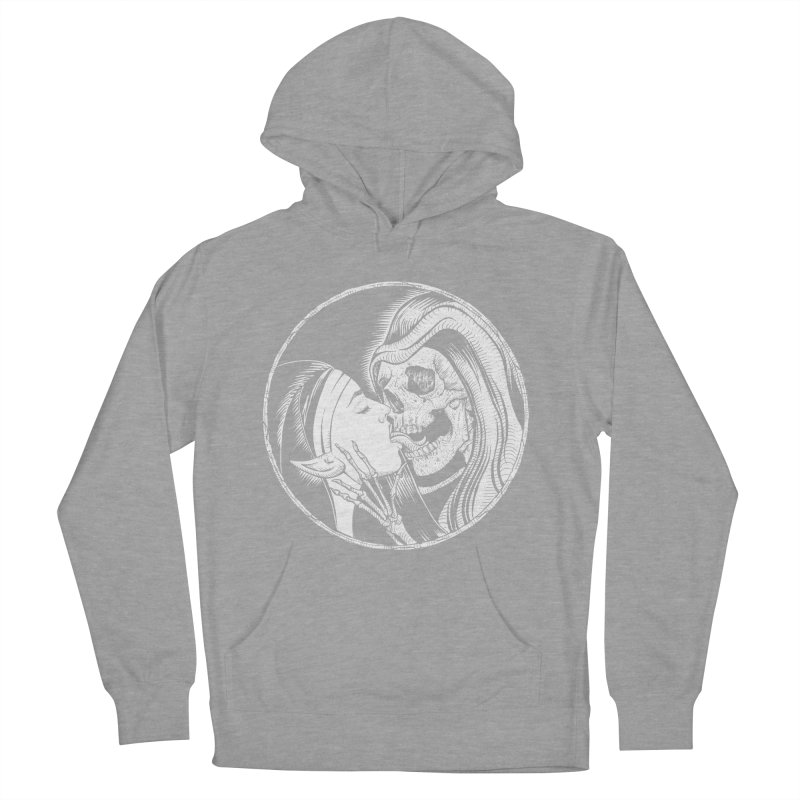 Kiss of death Men's French Terry Pullover Hoody by sp3ktr's Artist Shop