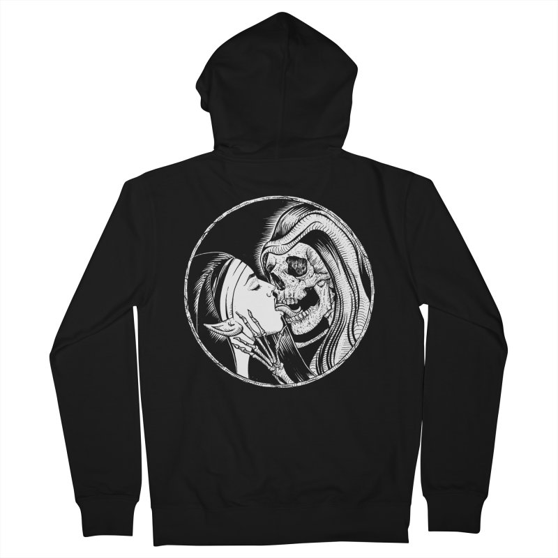 Kiss of death Women's French Terry Zip-Up Hoody by sp3ktr's Artist Shop