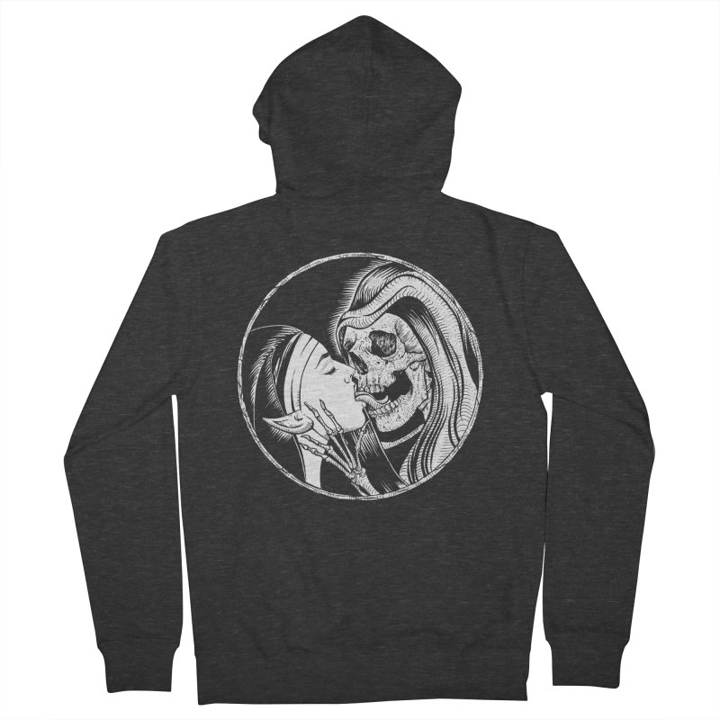 Kiss of death Men's French Terry Zip-Up Hoody by sp3ktr's Artist Shop