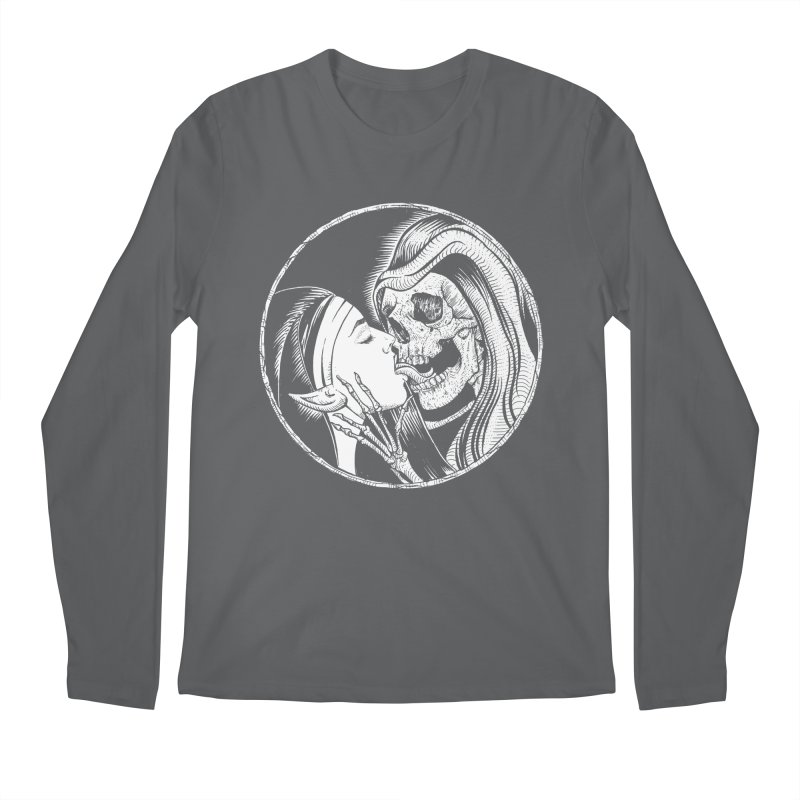 Kiss of death Men's Regular Longsleeve T-Shirt by Sp3ktr's Artist Shop