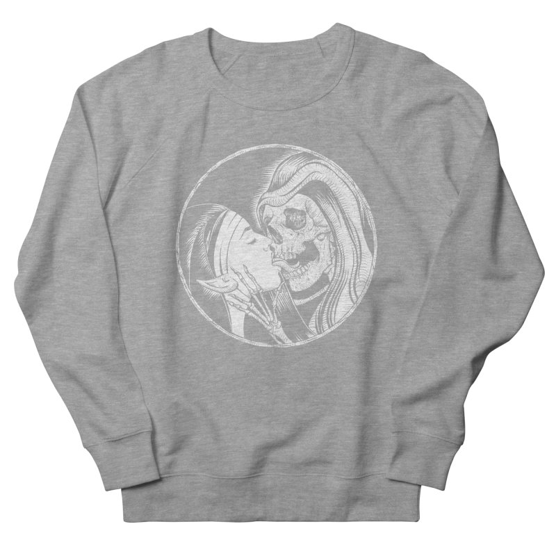 Kiss of death Women's French Terry Sweatshirt by sp3ktr's Artist Shop