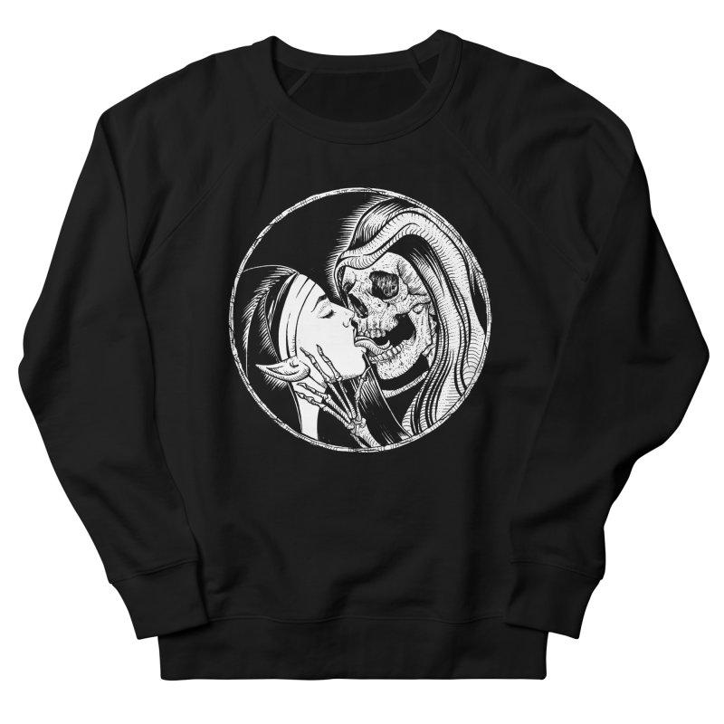 Kiss of death Men's French Terry Sweatshirt by Sp3ktr's Artist Shop