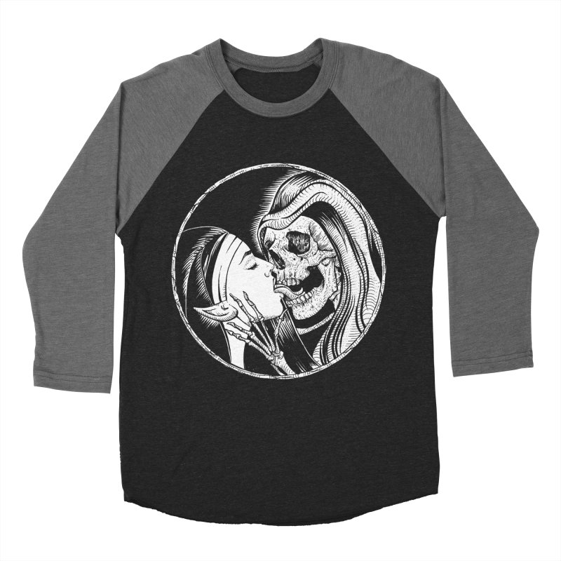 Kiss of death Men's Baseball Triblend Longsleeve T-Shirt by Sp3ktr's Artist Shop