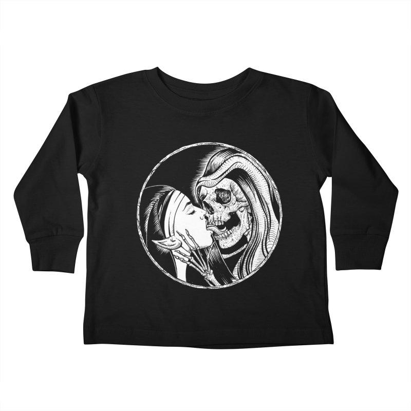 Kiss of death Kids Toddler Longsleeve T-Shirt by Sp3ktr's Artist Shop