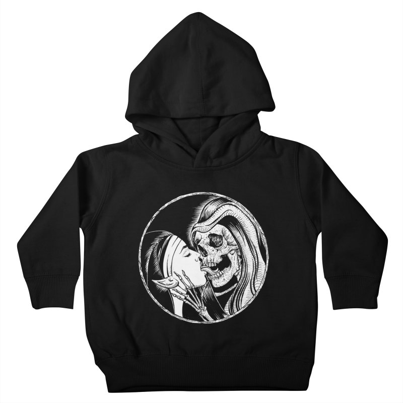 Kiss of death Kids Toddler Pullover Hoody by Sp3ktr's Artist Shop