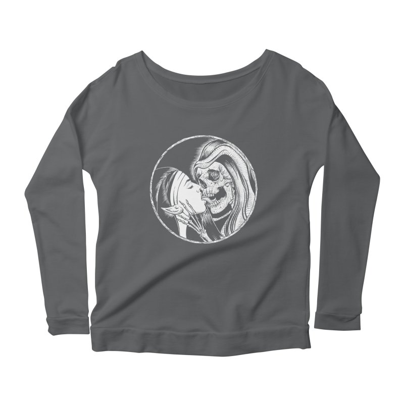 Kiss of death Women's Scoop Neck Longsleeve T-Shirt by Sp3ktr's Artist Shop
