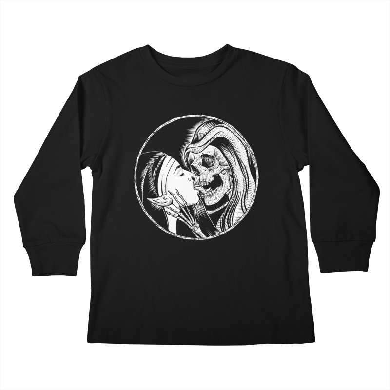 Kiss of death Kids Longsleeve T-Shirt by Sp3ktr's Artist Shop