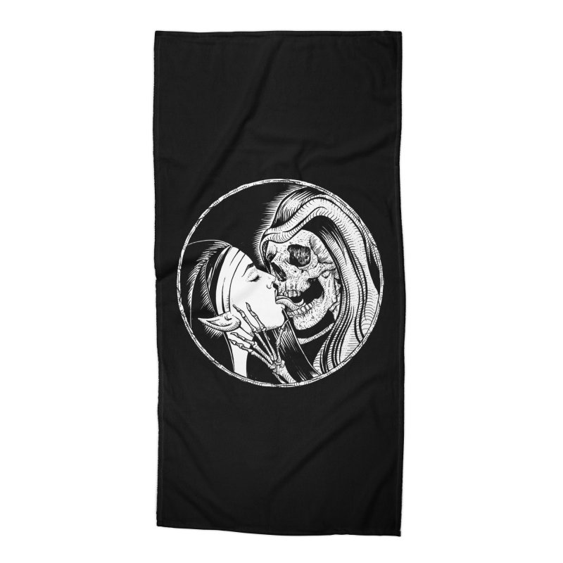 Kiss of death Accessories Beach Towel by Sp3ktr's Artist Shop