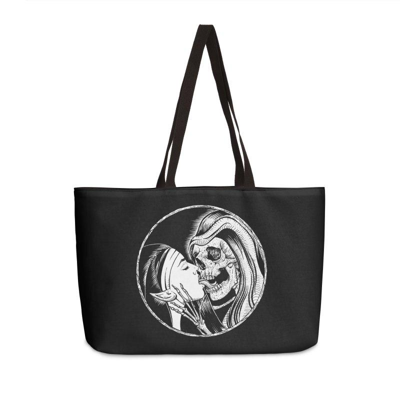 Kiss of death Accessories Weekender Bag Bag by Sp3ktr's Artist Shop