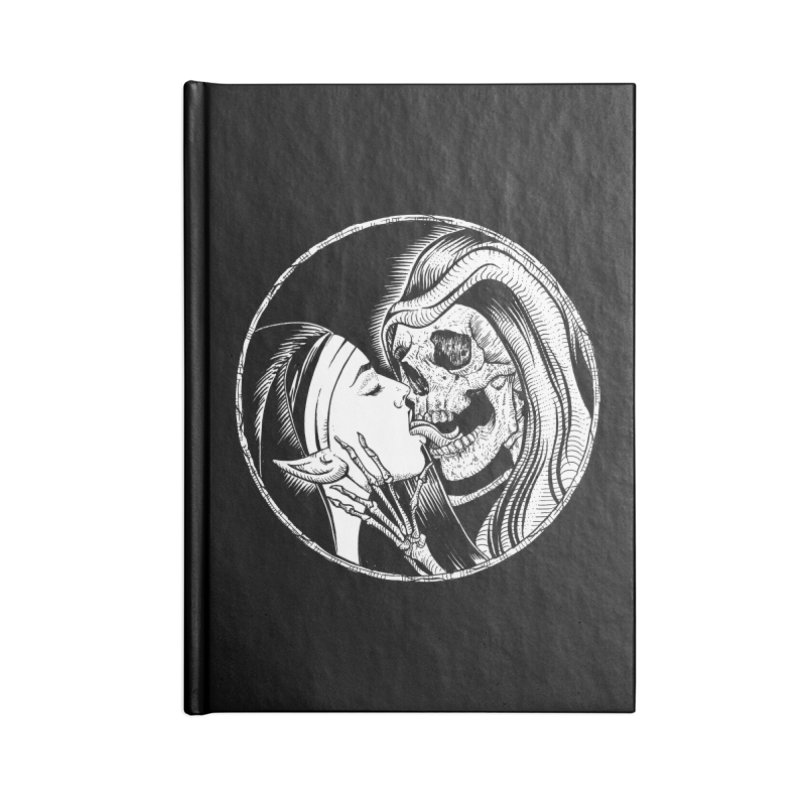 Kiss of death Accessories Lined Journal Notebook by Sp3ktr's Artist Shop