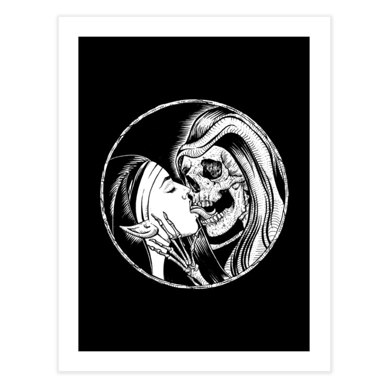 Kiss of death Home Fine Art Print by sp3ktr's Artist Shop