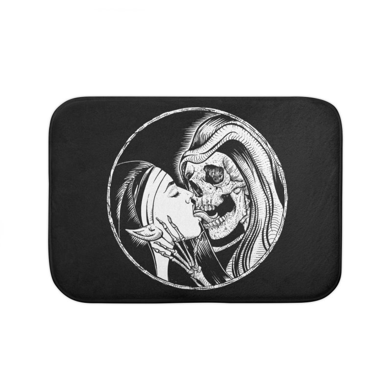 Kiss of death Home Bath Mat by Sp3ktr's Artist Shop