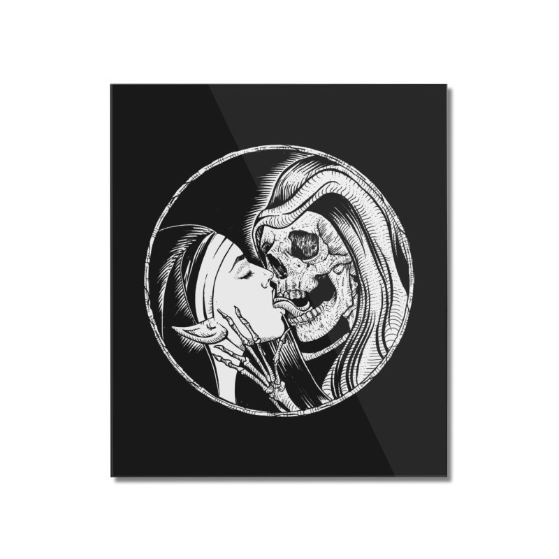 Kiss of death Home Mounted Acrylic Print by sp3ktr's Artist Shop