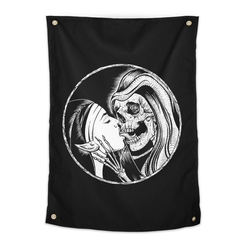 Kiss of death Home Tapestry by Sp3ktr's Artist Shop