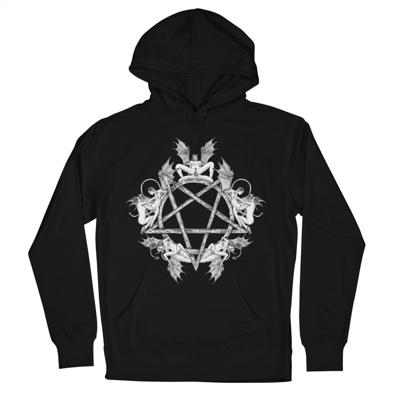 pentalove Men's French Terry Pullover Hoody by sp3ktr's Artist Shop