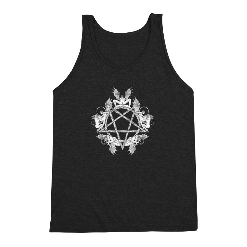 pentalove Men's Triblend Tank by sp3ktr's Artist Shop