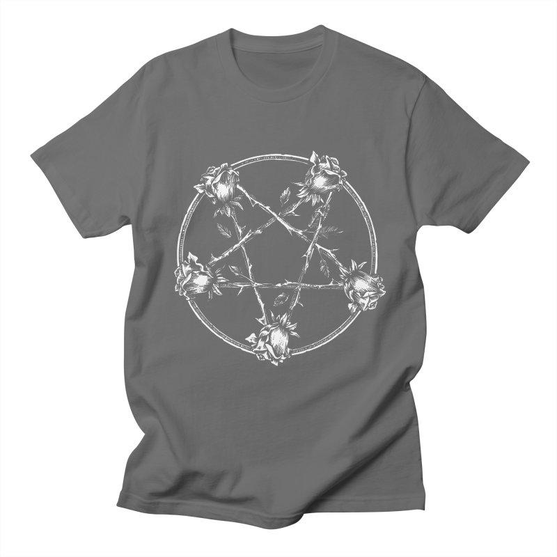 PENTAGRAM ROSE Women's Regular Unisex T-Shirt by Sp3ktr's Artist Shop