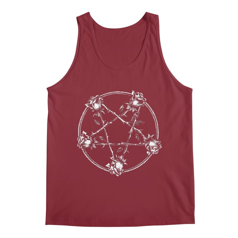PENTAGRAM ROSE Men's Regular Tank by Sp3ktr's Artist Shop