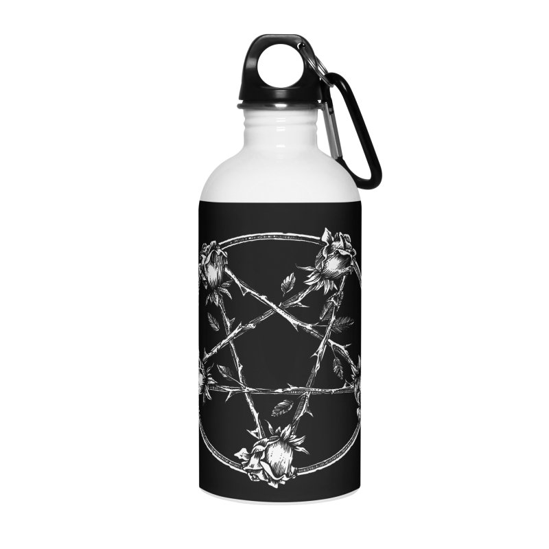 PENTAGRAM ROSE Accessories Water Bottle by Sp3ktr's Artist Shop