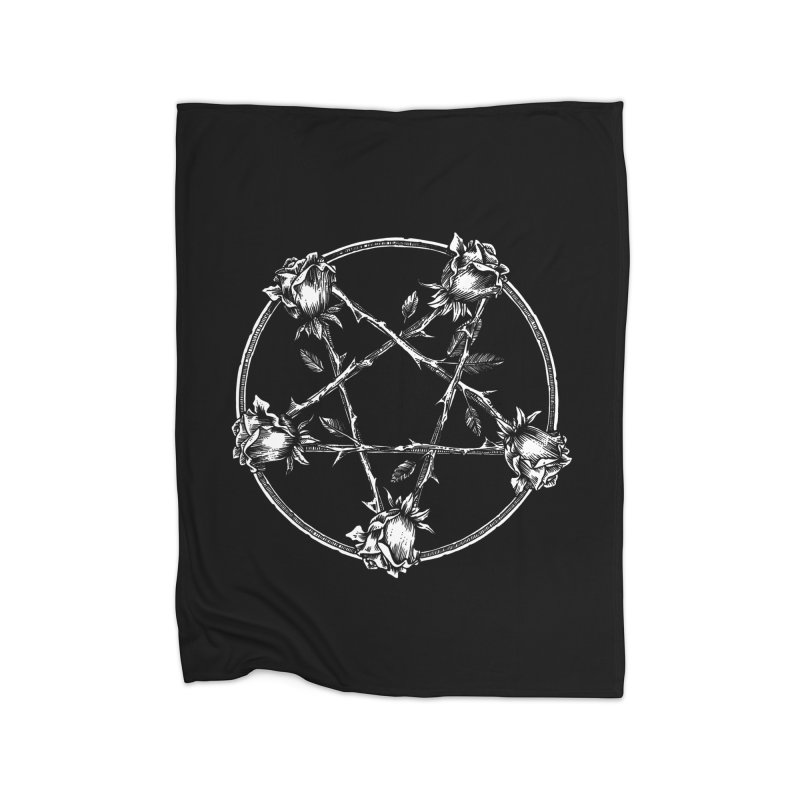 PENTAGRAM ROSE Home Blanket by sp3ktr's Artist Shop