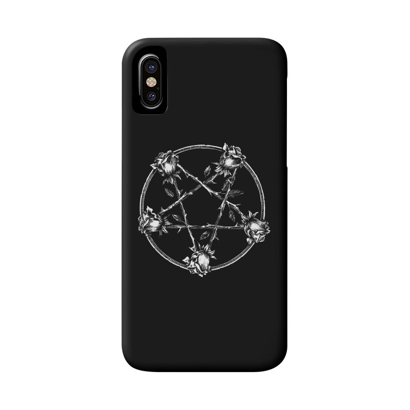 PENTAGRAM ROSE Accessories Phone Case by Sp3ktr's Artist Shop