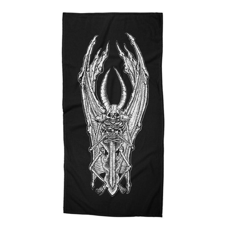 DEMON SWORD Accessories Beach Towel by Sp3ktr's Artist Shop