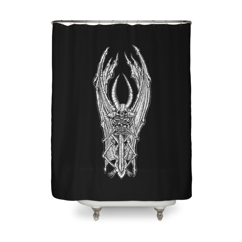 DEMON SWORD Home Shower Curtain by Sp3ktr's Artist Shop
