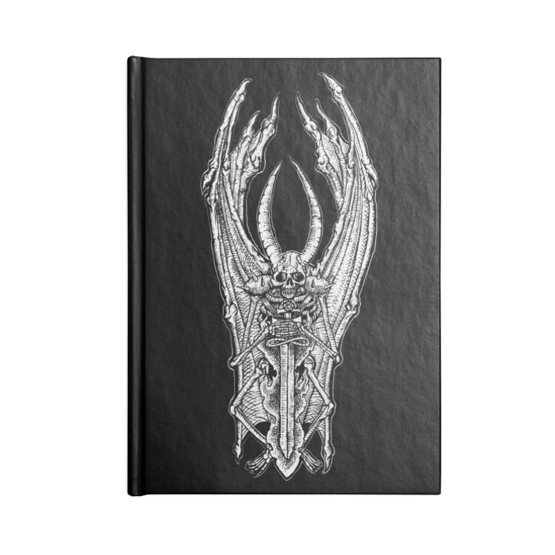 DEMON SWORD Accessories Lined Journal Notebook by Sp3ktr's Artist Shop