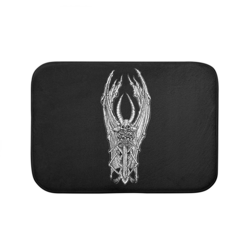 DEMON SWORD Home Bath Mat by Sp3ktr's Artist Shop