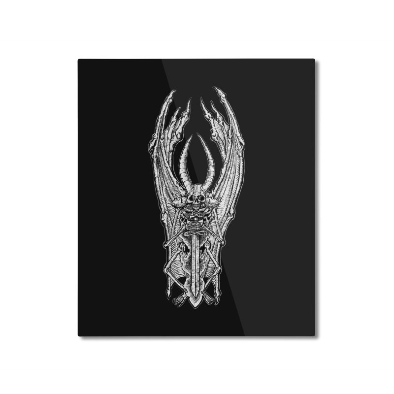 DEMON SWORD Home Mounted Aluminum Print by sp3ktr's Artist Shop