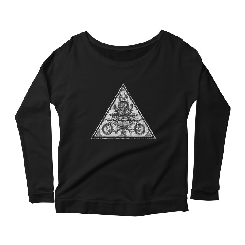 LUCIFORGE Women's Scoop Neck Longsleeve T-Shirt by Sp3ktr's Artist Shop