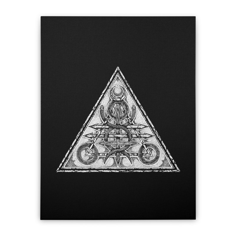 LUCIFORGE Home Stretched Canvas by Sp3ktr's Artist Shop