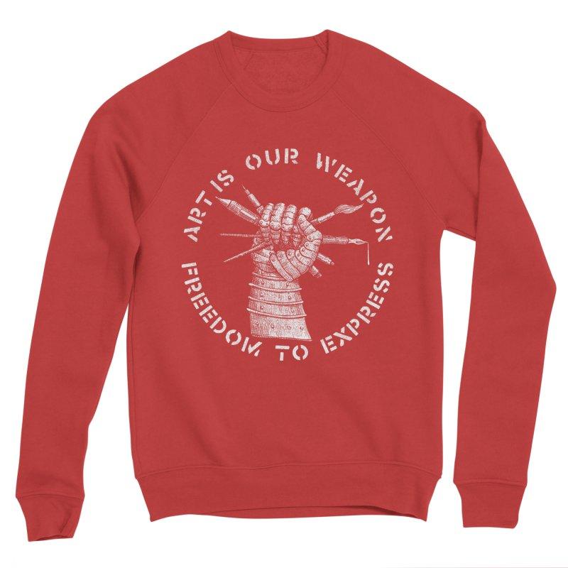 art weapon Women's Sponge Fleece Sweatshirt by Sp3ktr's Artist Shop