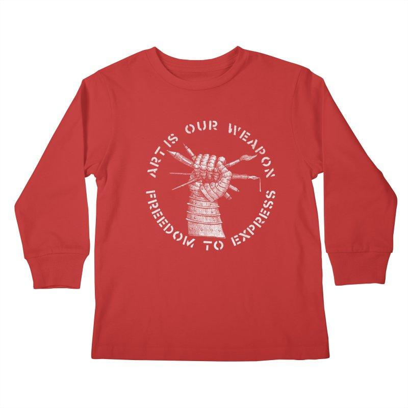 art weapon Kids Longsleeve T-Shirt by Sp3ktr's Artist Shop