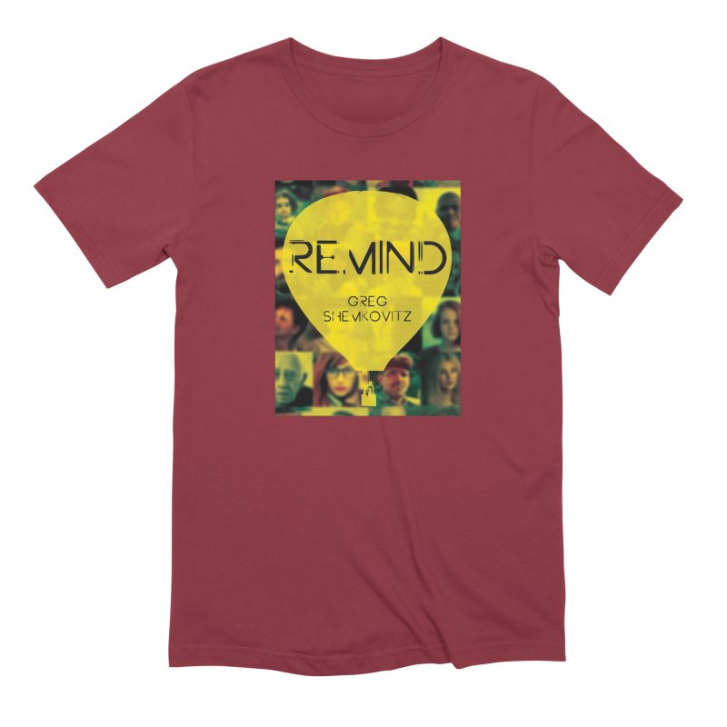 REMIND Cover A Men's Extra Soft T-Shirt by Spaceboy Books LLC's Artist Shop