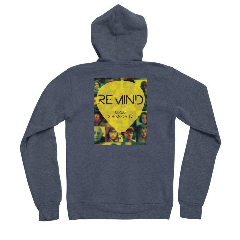 REMIND Cover A Men's Sponge Fleece Zip-Up Hoody by Spaceboy Books LLC's Artist Shop