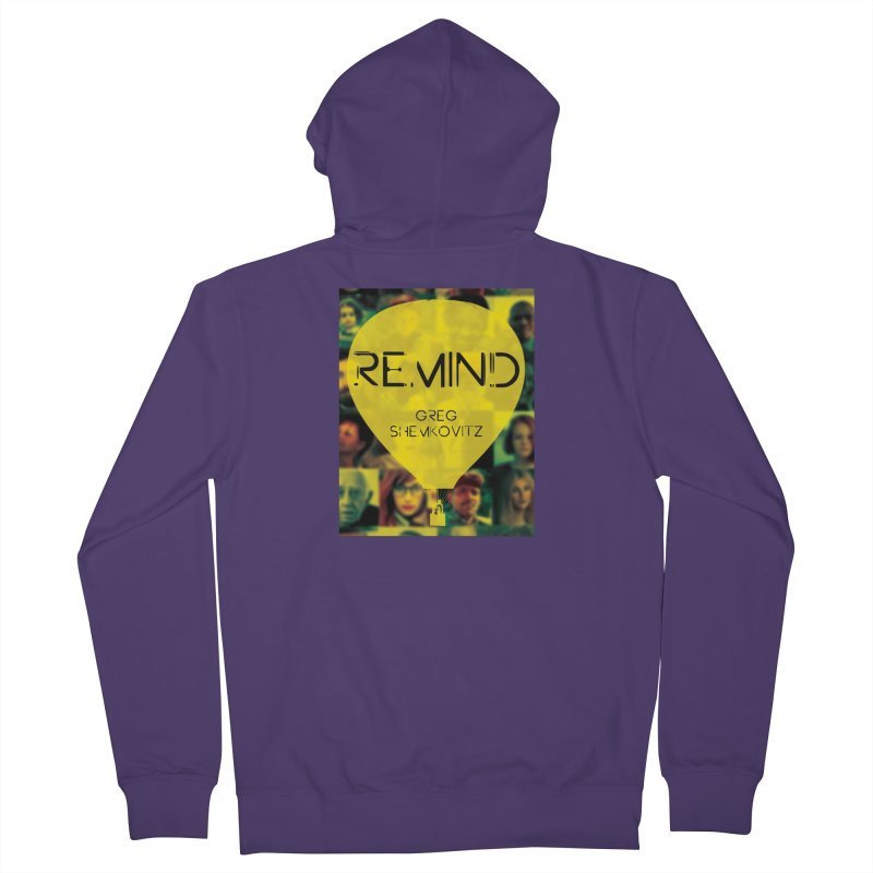 REMIND Cover A Women's French Terry Zip-Up Hoody by Spaceboy Books LLC's Artist Shop