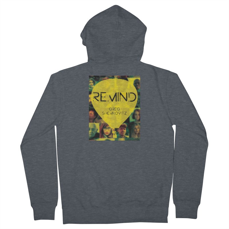 REMIND Cover A Men's French Terry Zip-Up Hoody by Spaceboy Books LLC's Artist Shop