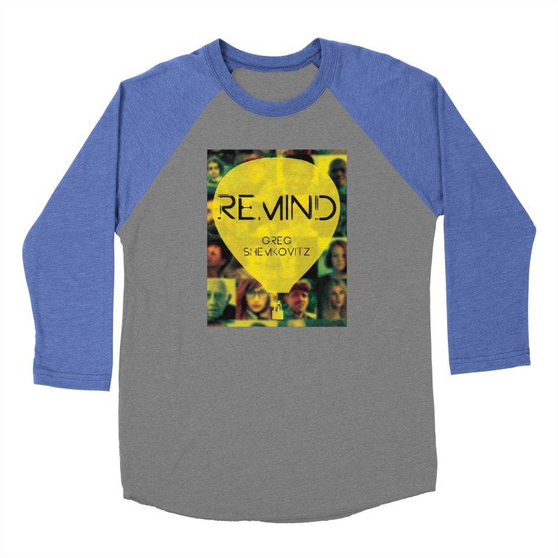 REMIND Cover A Men's Baseball Triblend Longsleeve T-Shirt by Spaceboy Books LLC's Artist Shop