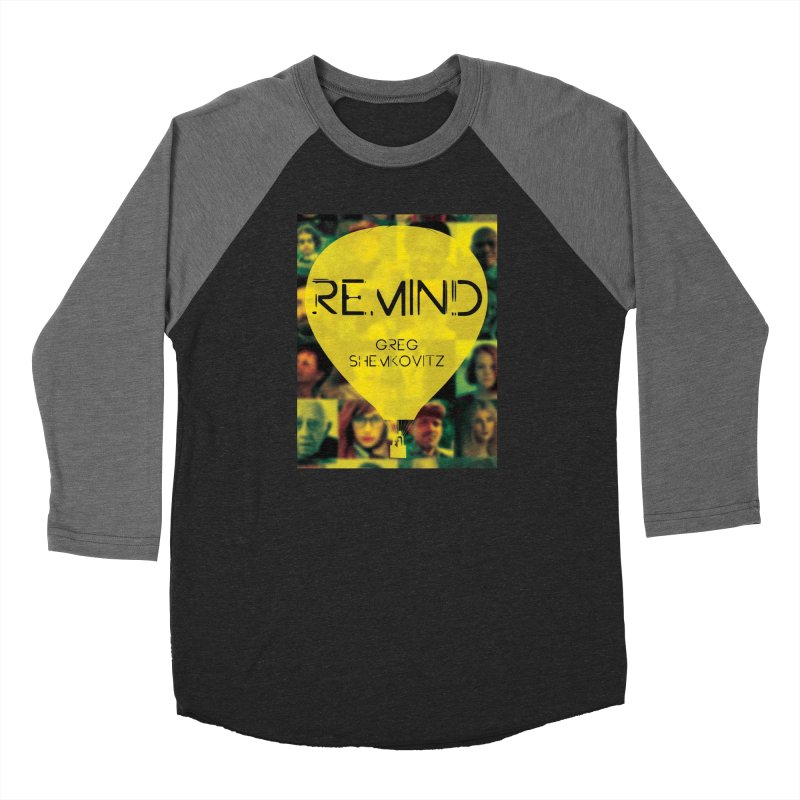 REMIND Cover A Men's Baseball Triblend Longsleeve T-Shirt by Spaceboy Books LLC's Artist Shop