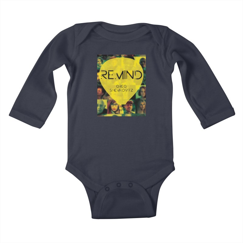 REMIND Cover A Kids Baby Longsleeve Bodysuit by Spaceboy Books LLC's Artist Shop