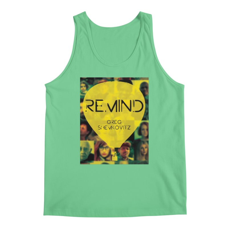 REMIND Cover A Men's Regular Tank by Spaceboy Books LLC's Artist Shop