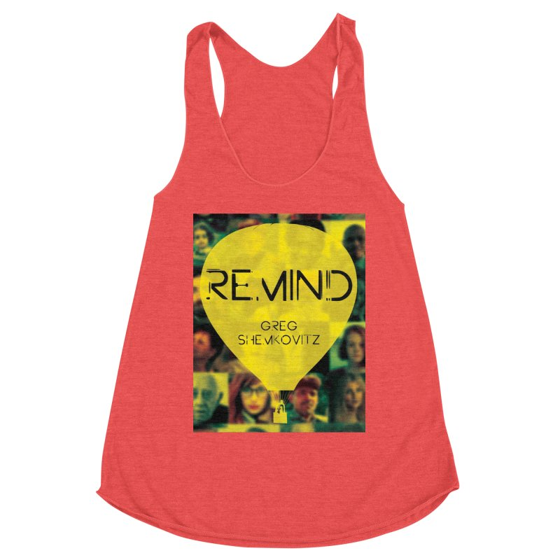 REMIND Cover A Women's Racerback Triblend Tank by Spaceboy Books LLC's Artist Shop